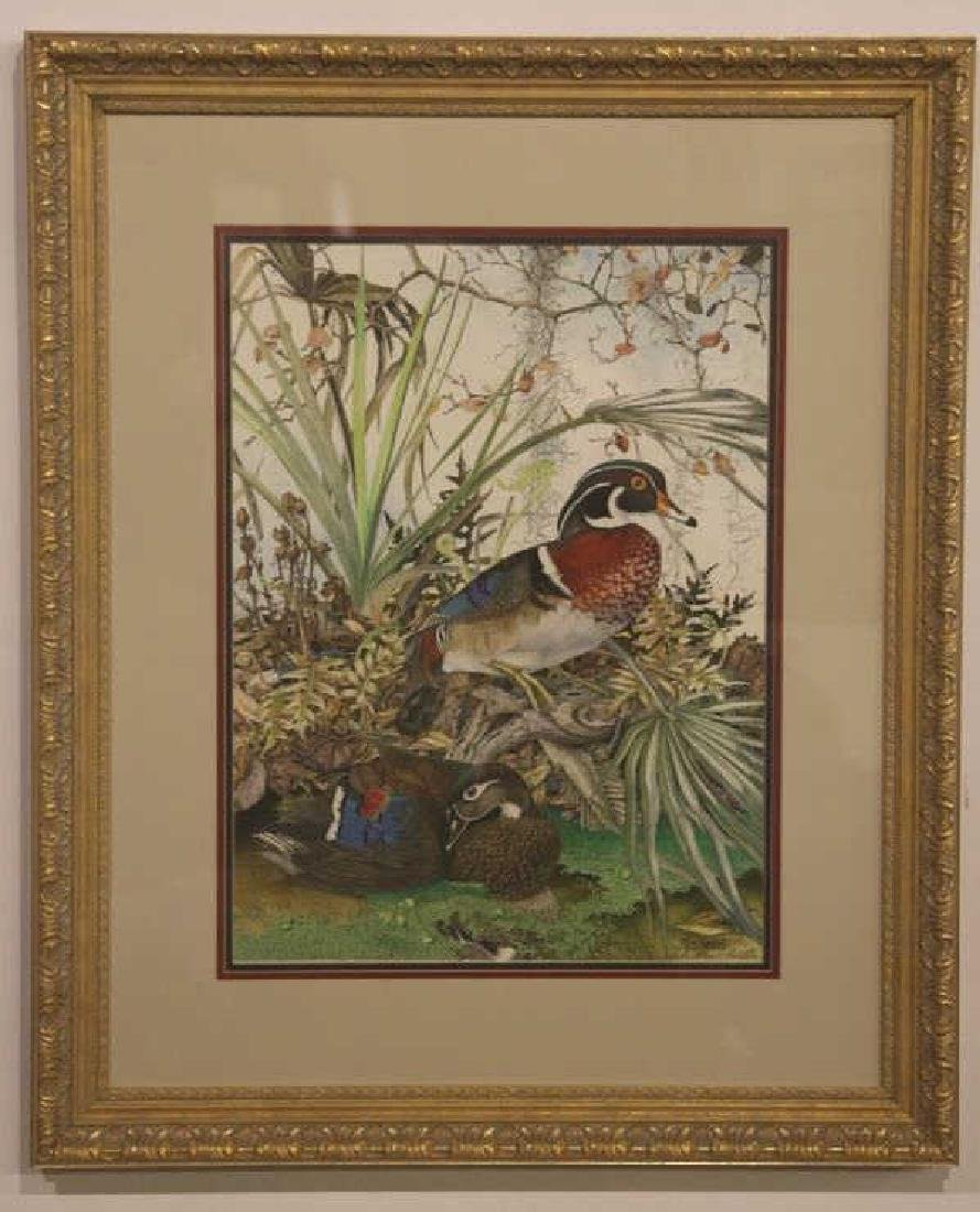 SALLIE ELLINGTON MIDDLETON, SIGNED, AUDUBON