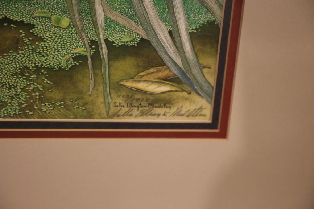 SALLIE ELLINGTON MIDDLETON, SIGNED, AUDUBON - 4