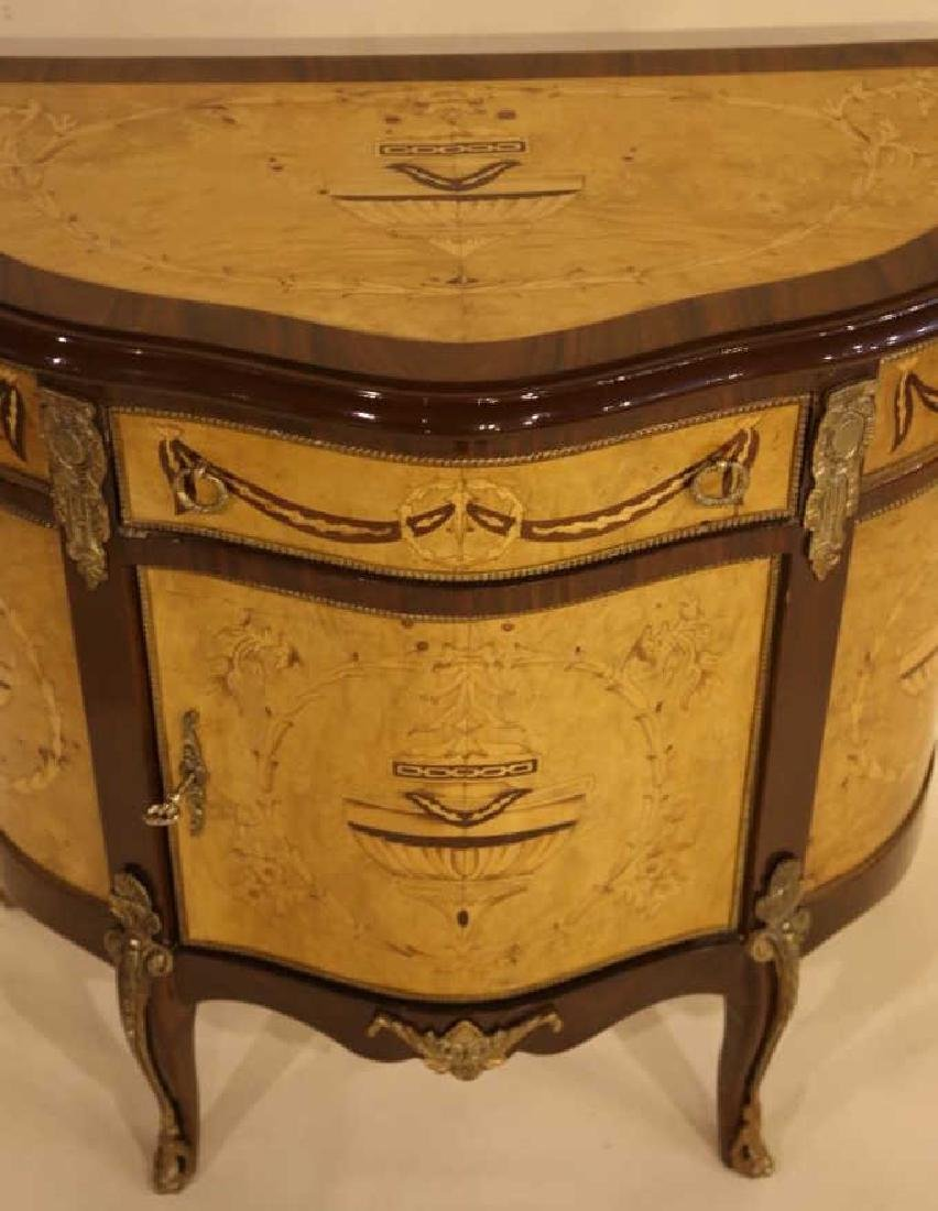 FINE INLAID DECORATIVE COMMODE - 3