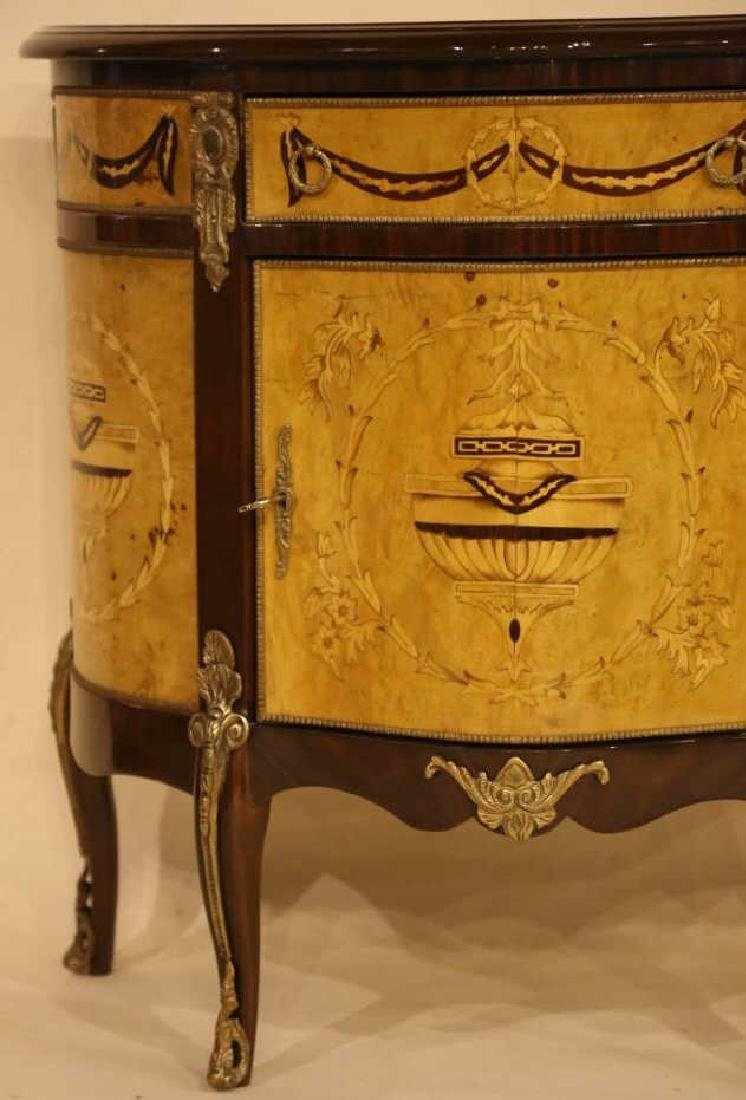 FINE INLAID DECORATIVE COMMODE - 5