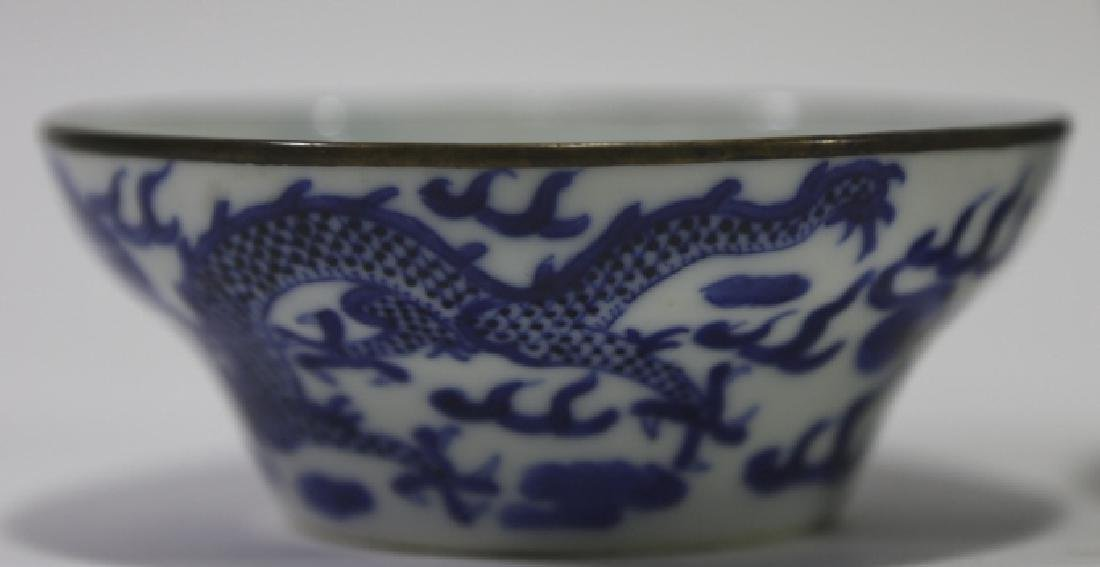 CHINESE ANTIQUE LOW BOWL GROUPING - 4