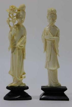 CHINESE ANTIQUE HAND CARVED IMMORTALS