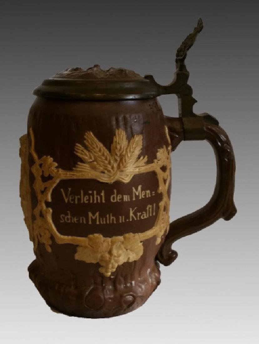 VILLEROY & BOCH METTLACH BEER STEIN