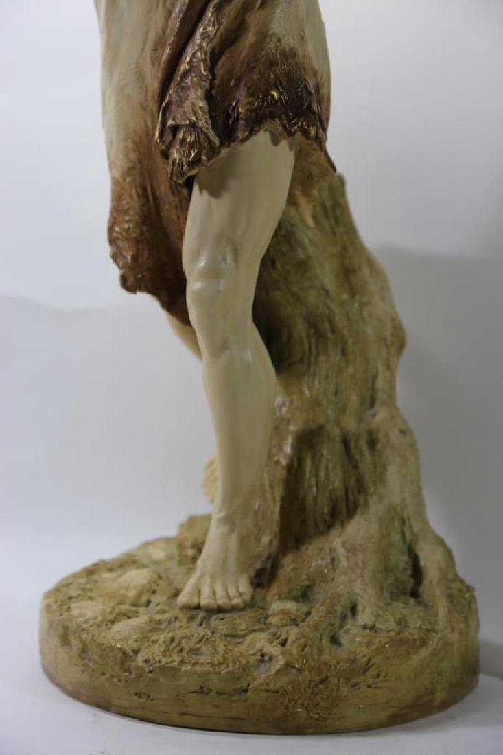 ROYAL WORCESTER PORCELAIN FIGURE OF BACCHUS - 3