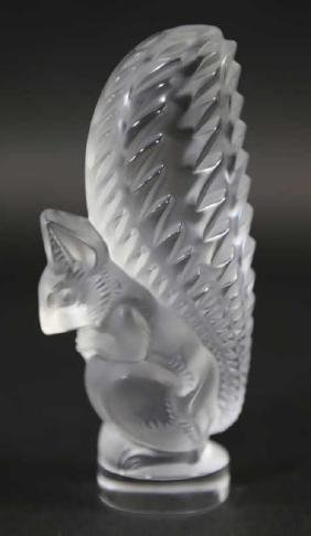 FRENCH LALIQUE SQUIRREL