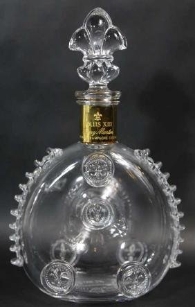 BACCARAT CRYSTAL REMY MARTIN DECANTER