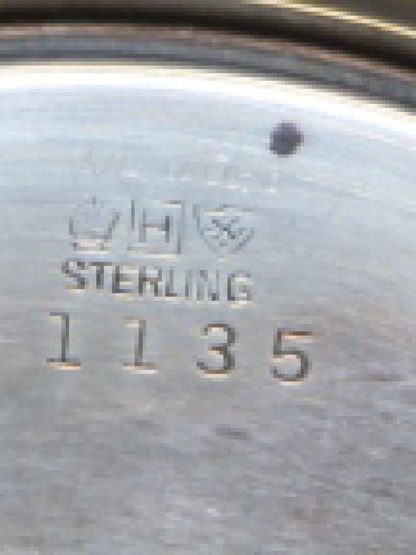STERLING SILVER SERVING BOWL - 3