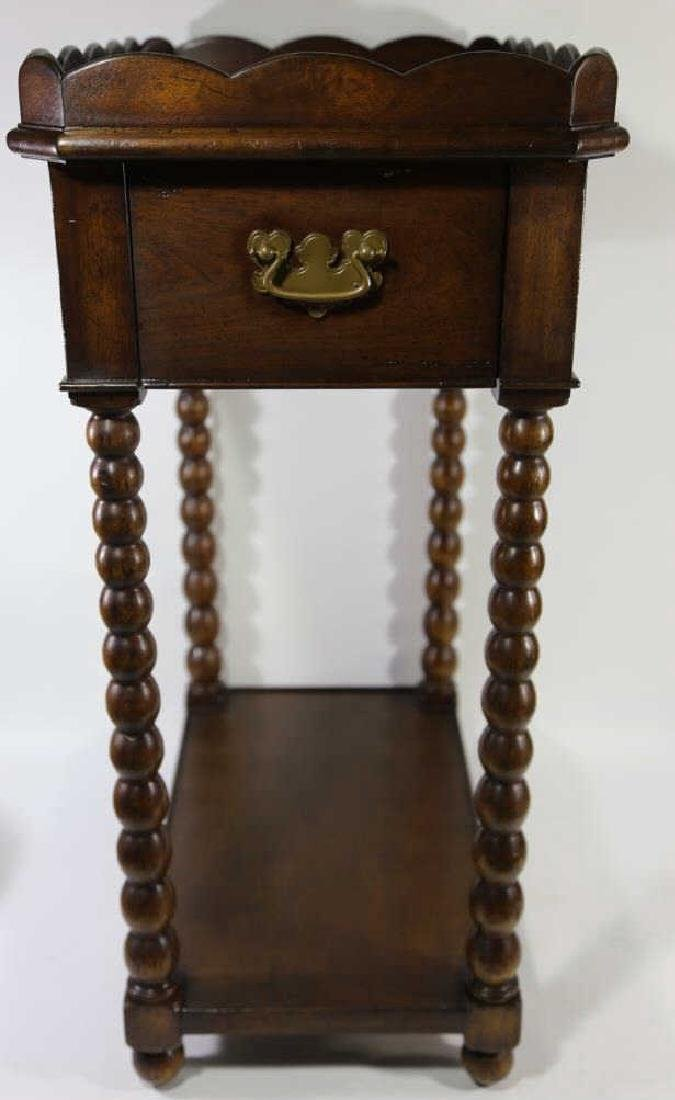 VINTAGE MAHOGANY SIDE TABLE - 2