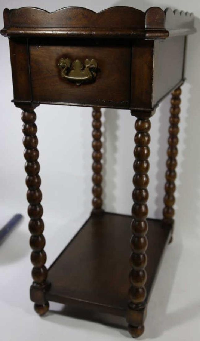 VINTAGE MAHOGANY SIDE TABLE - 5