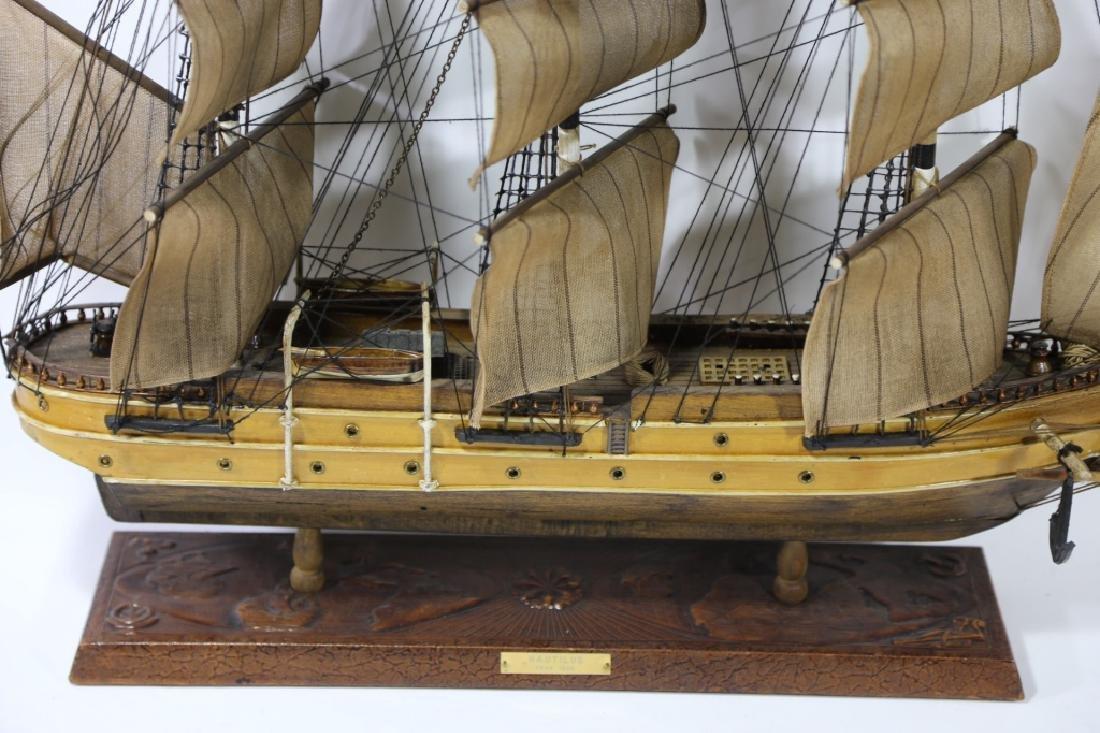 NAUTILUS 1866 SHIP'S MODEL - 4