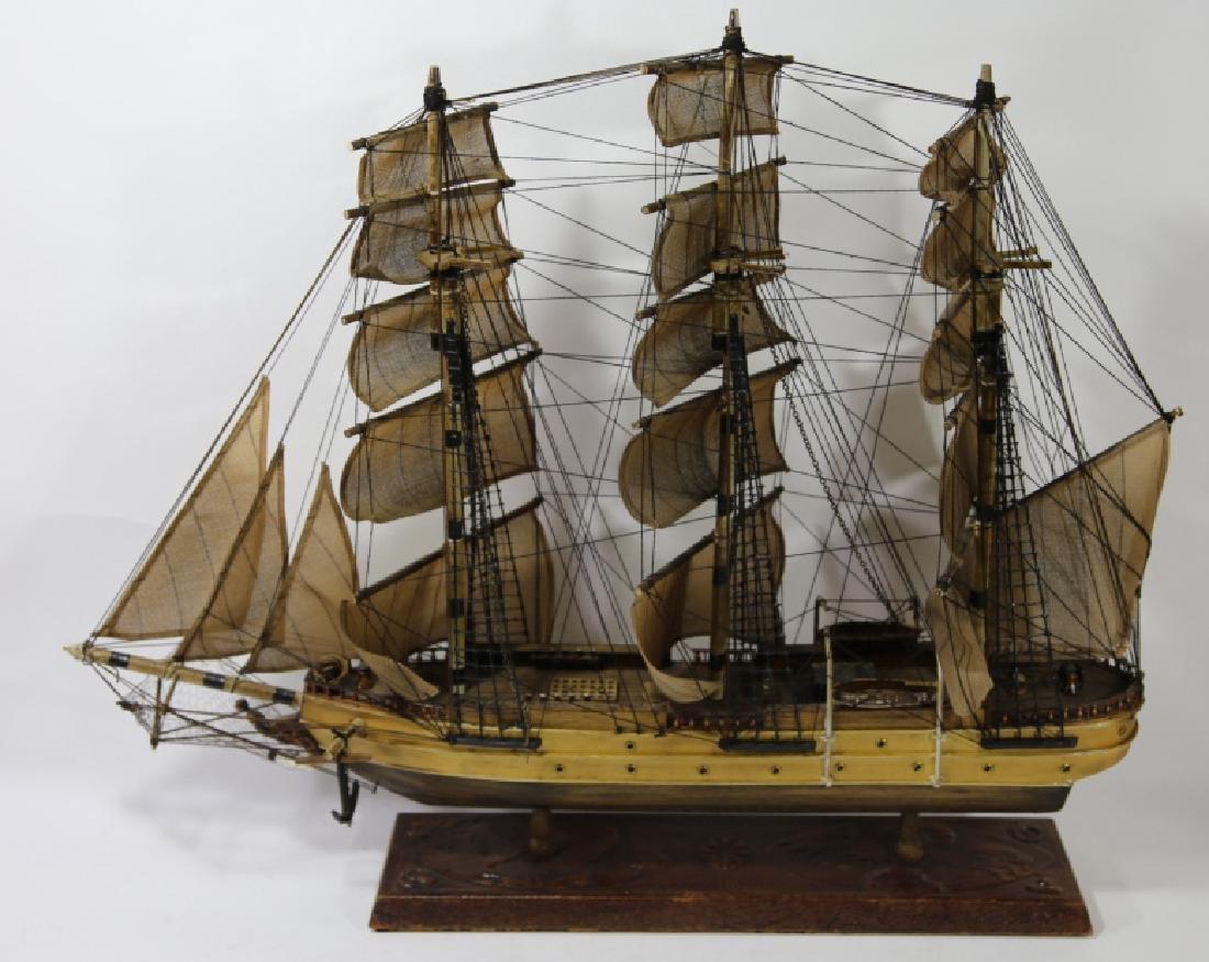 NAUTILUS 1866 SHIP'S MODEL - 6