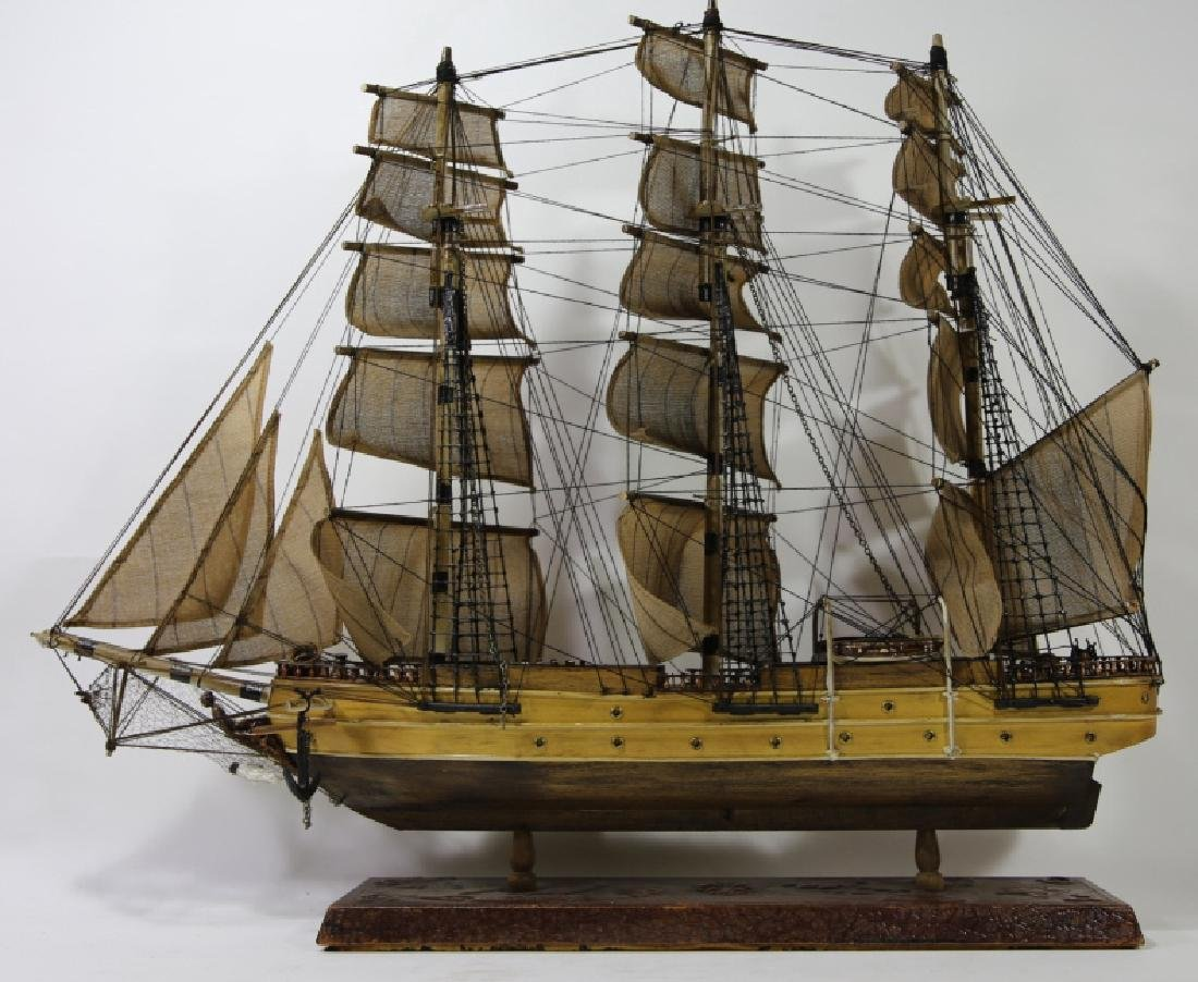 NAUTILUS 1866 SHIP'S MODEL - 7