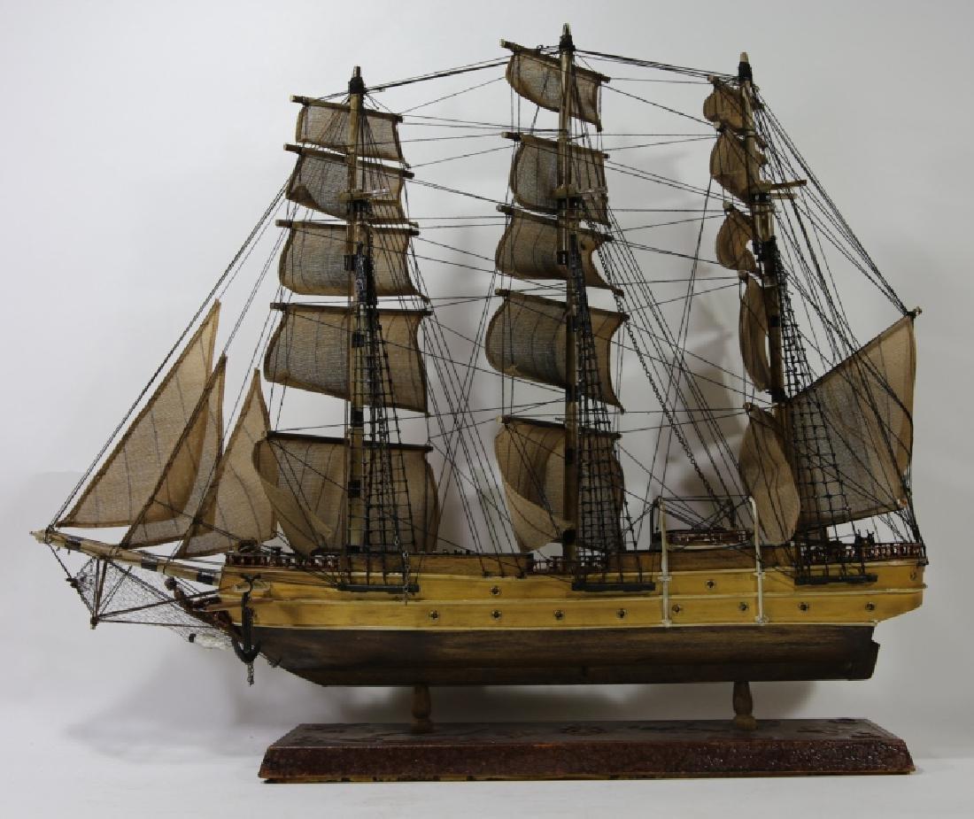 NAUTILUS 1866 SHIP'S MODEL - 8