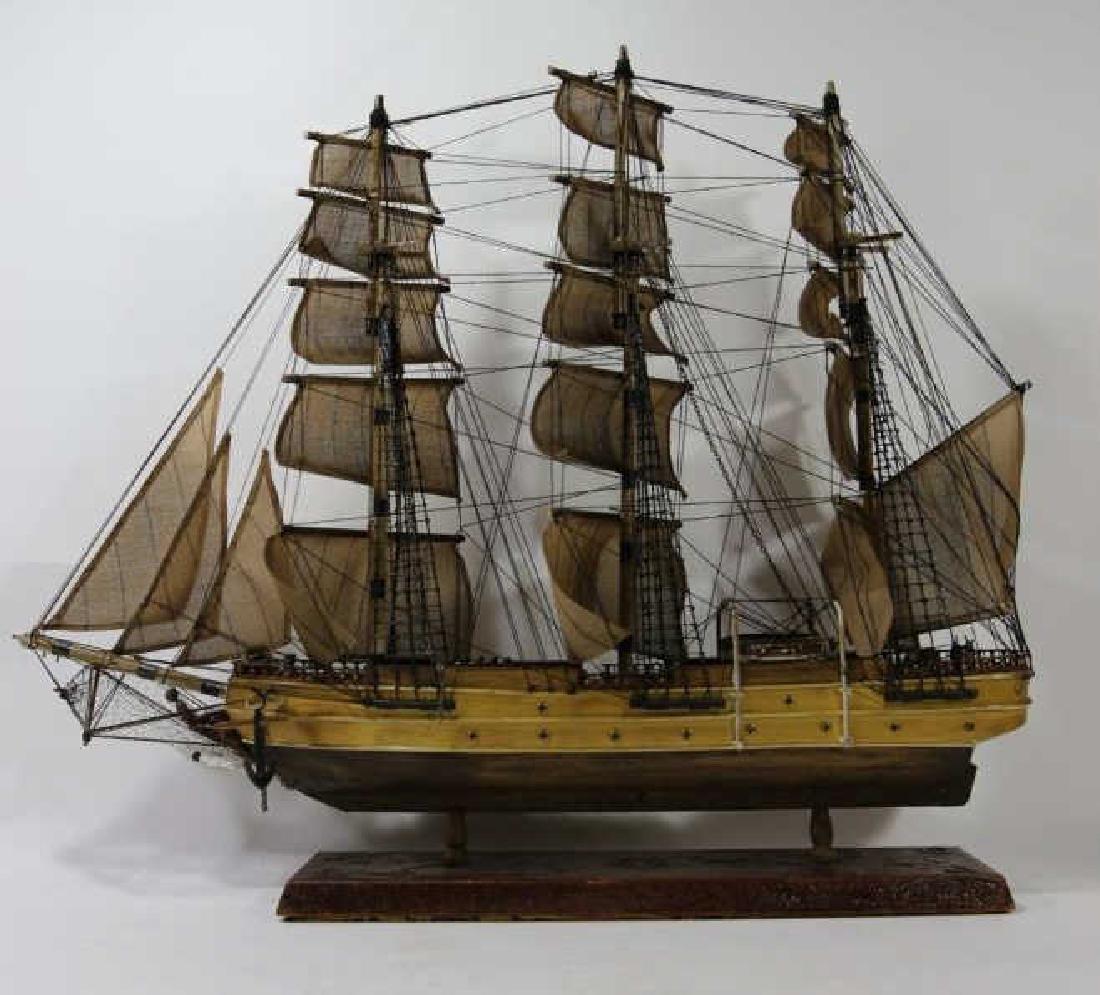 NAUTILUS 1866 SHIP'S MODEL - 9