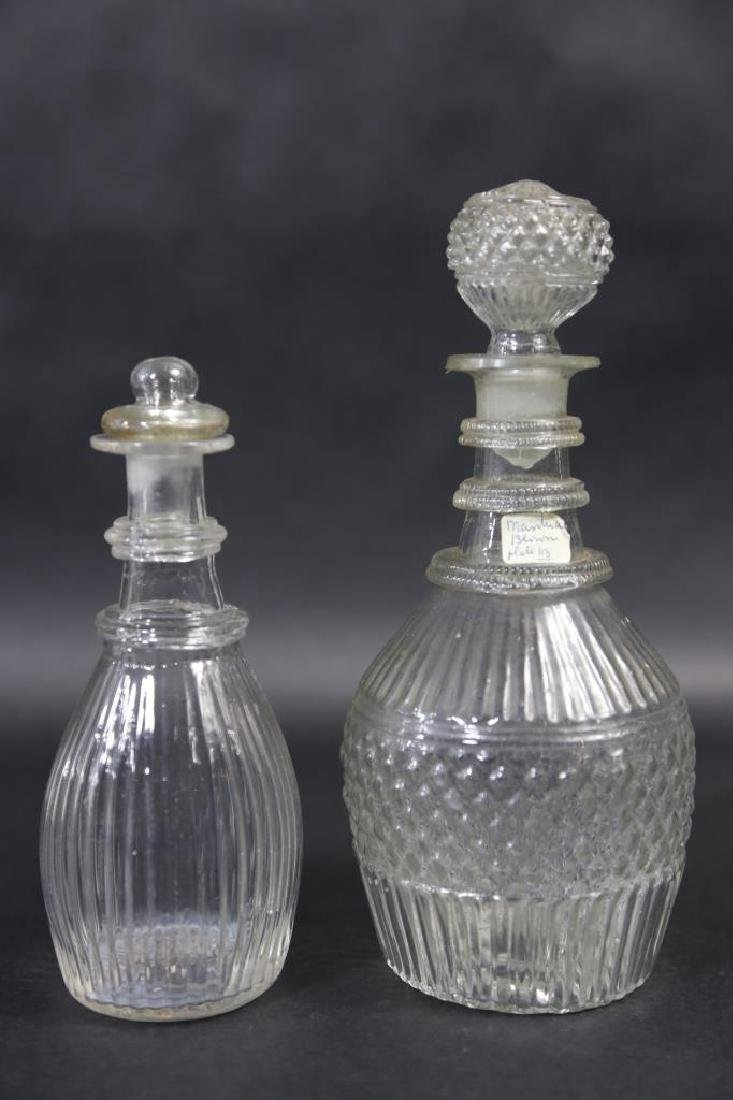 AMERICAN MOLD BLOWN DECANTERS