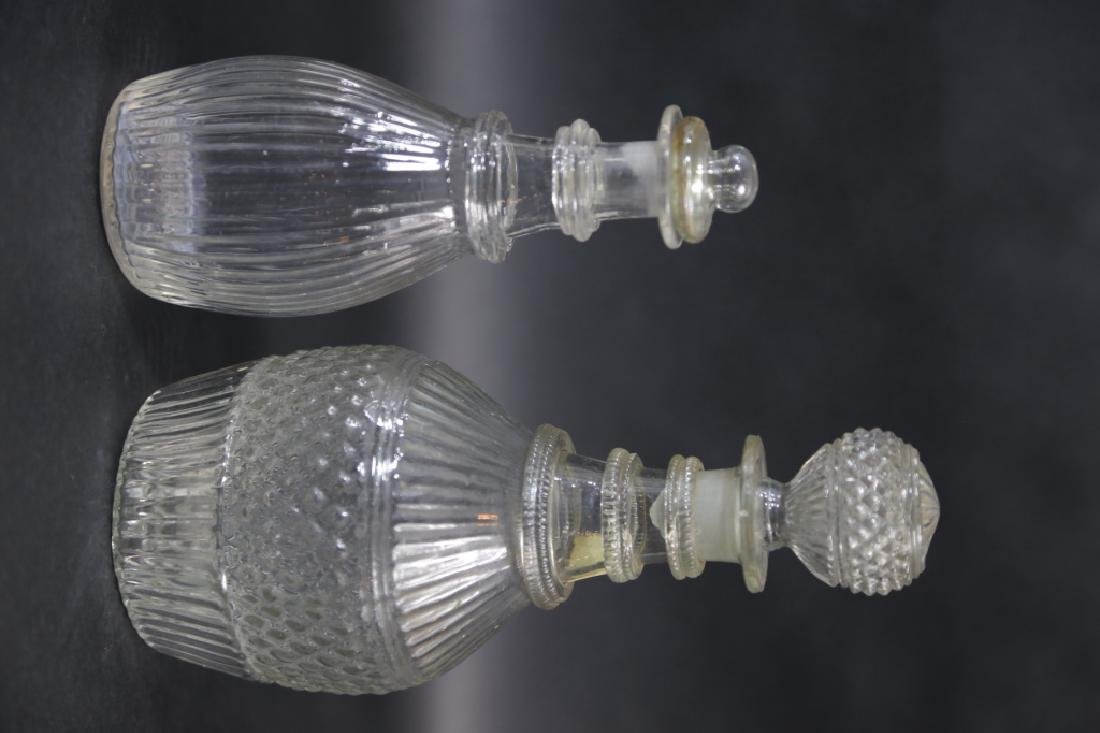 AMERICAN MOLD BLOWN DECANTERS - 5