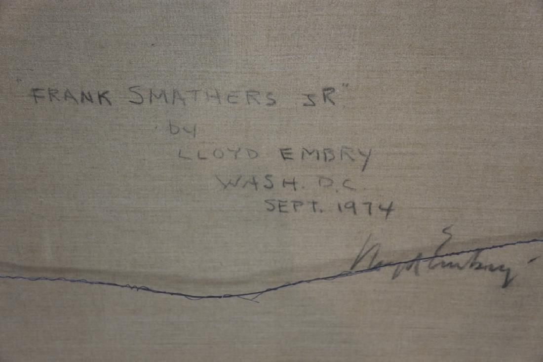 LOYD EMBRY 1974 WASHINGTON D.C. PORTRAIT - 7
