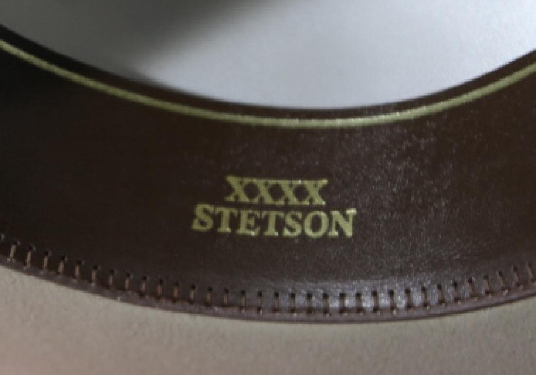 STETSON XXXX BEAVER MOUNTED HAT WITH ORIGINAL BOX - 10