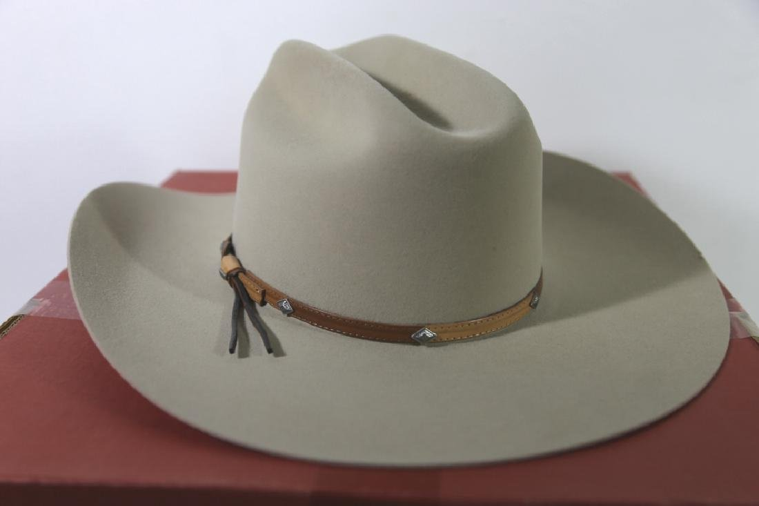 STETSON XXXX BEAVER MOUNTED HAT WITH ORIGINAL BOX - 2