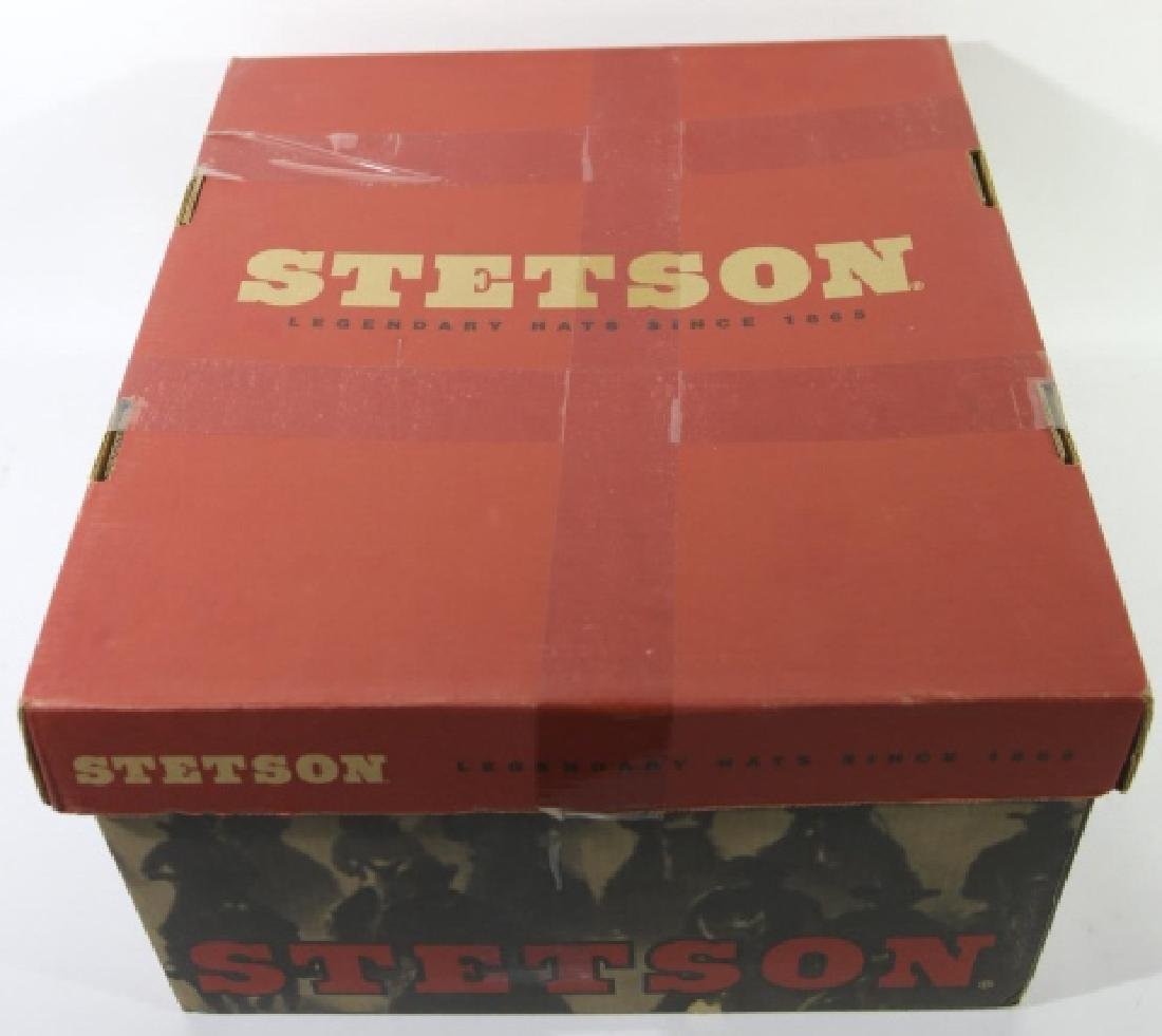 STETSON XXXX BEAVER MOUNTED HAT WITH ORIGINAL BOX - 3