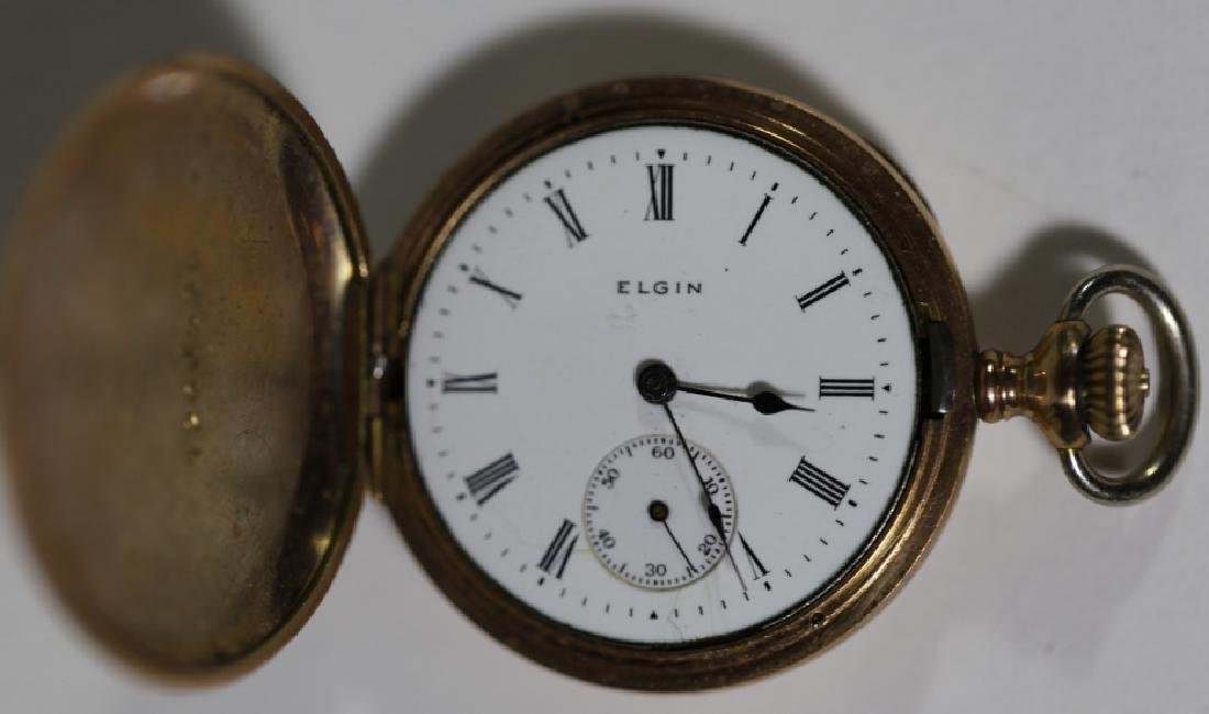 ELGIN ANTIQUE POCKET WATCH - 3