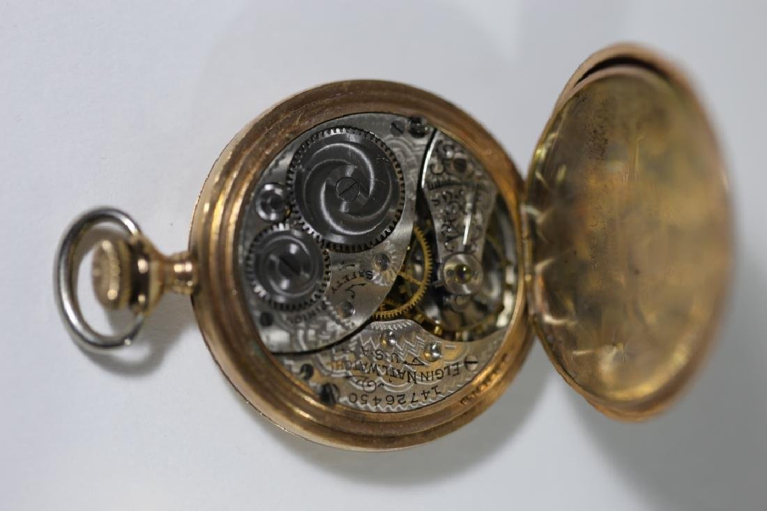 ELGIN ANTIQUE POCKET WATCH - 4