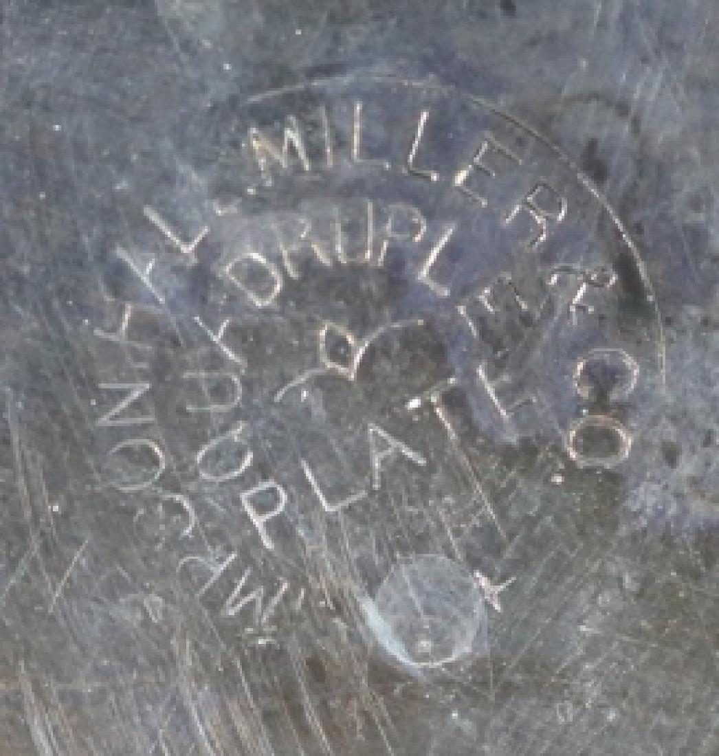 MILLER & COMPANY ANTIQUE PICKLE CASTOR SILVER - 6