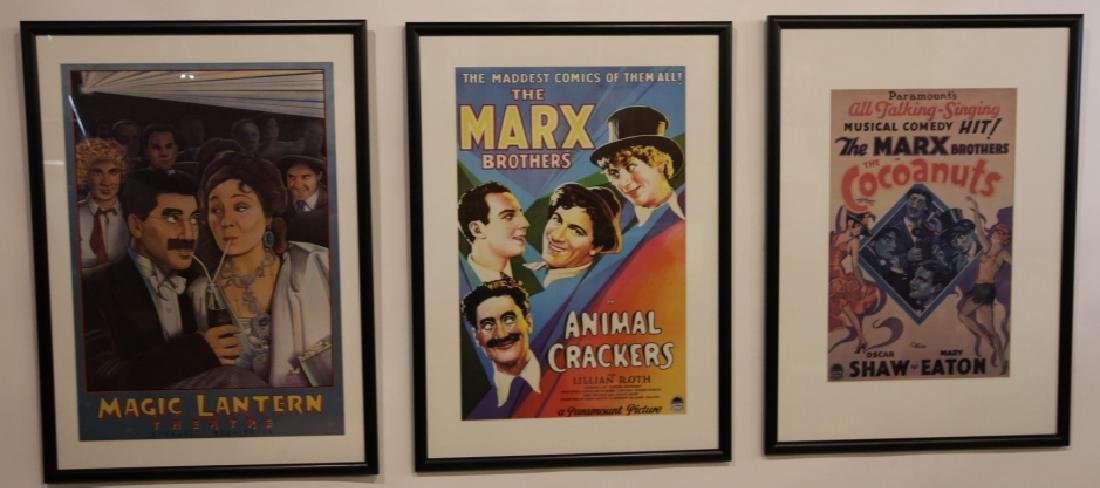 MARX BROTHERS FRAMED ADVERTISING
