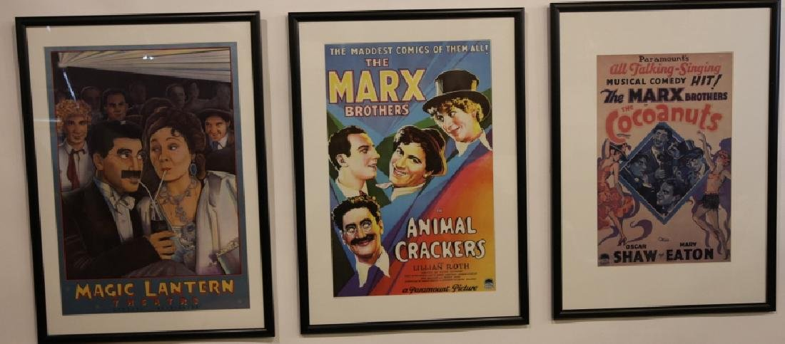 MARX BROTHERS FRAMED ADVERTISING - 2