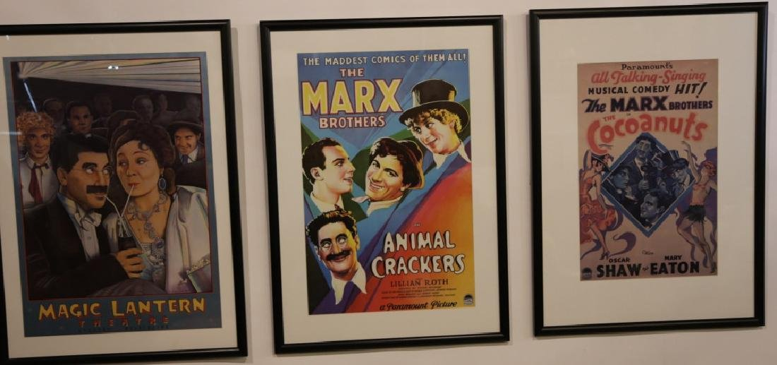 MARX BROTHERS FRAMED ADVERTISING - 3