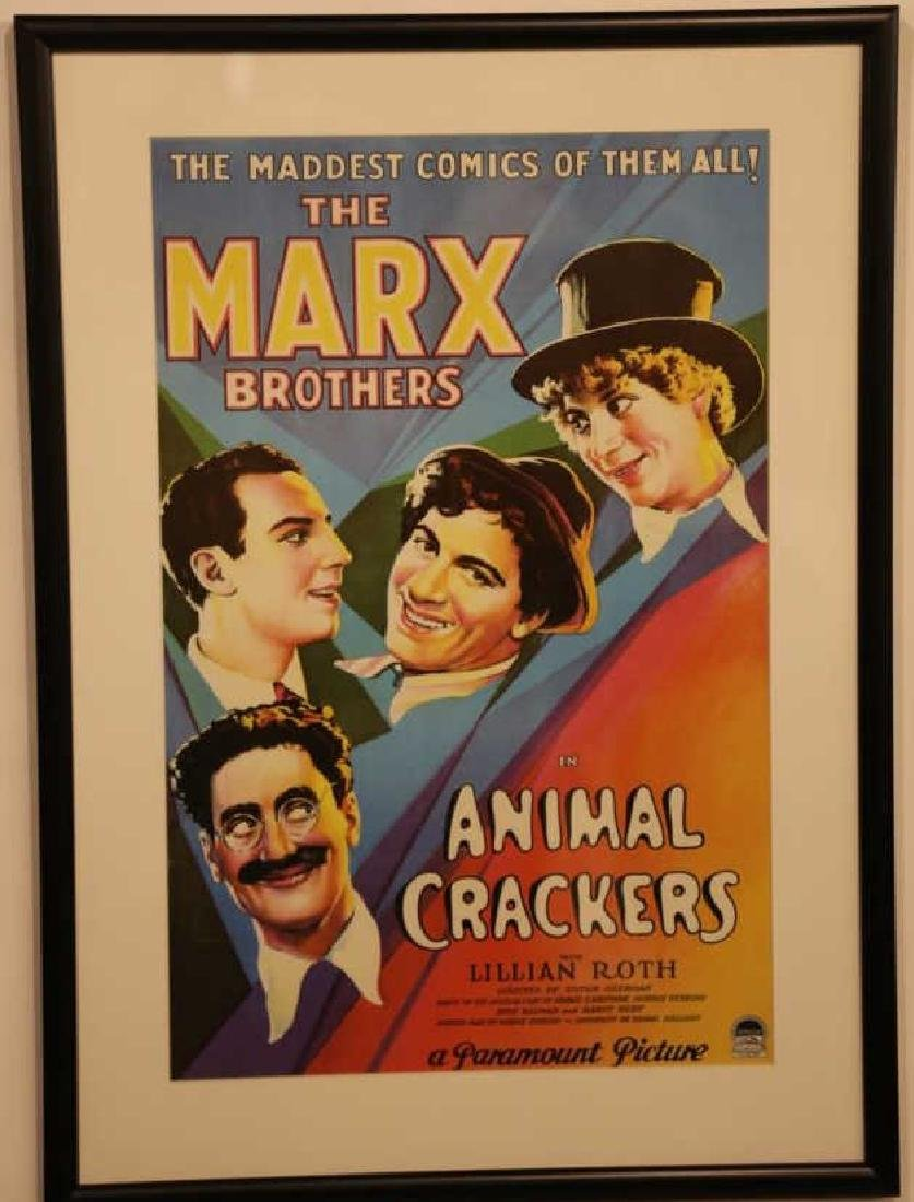 MARX BROTHERS FRAMED ADVERTISING - 4
