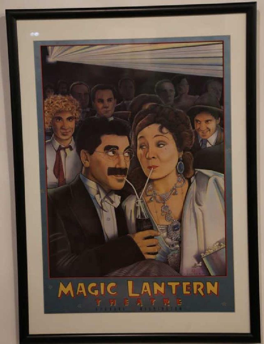 MARX BROTHERS FRAMED ADVERTISING - 5