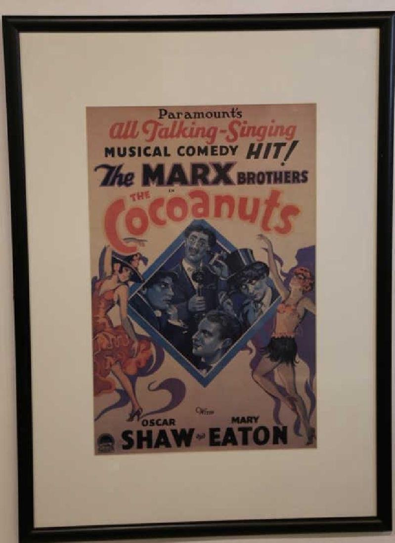 MARX BROTHERS FRAMED ADVERTISING - 6