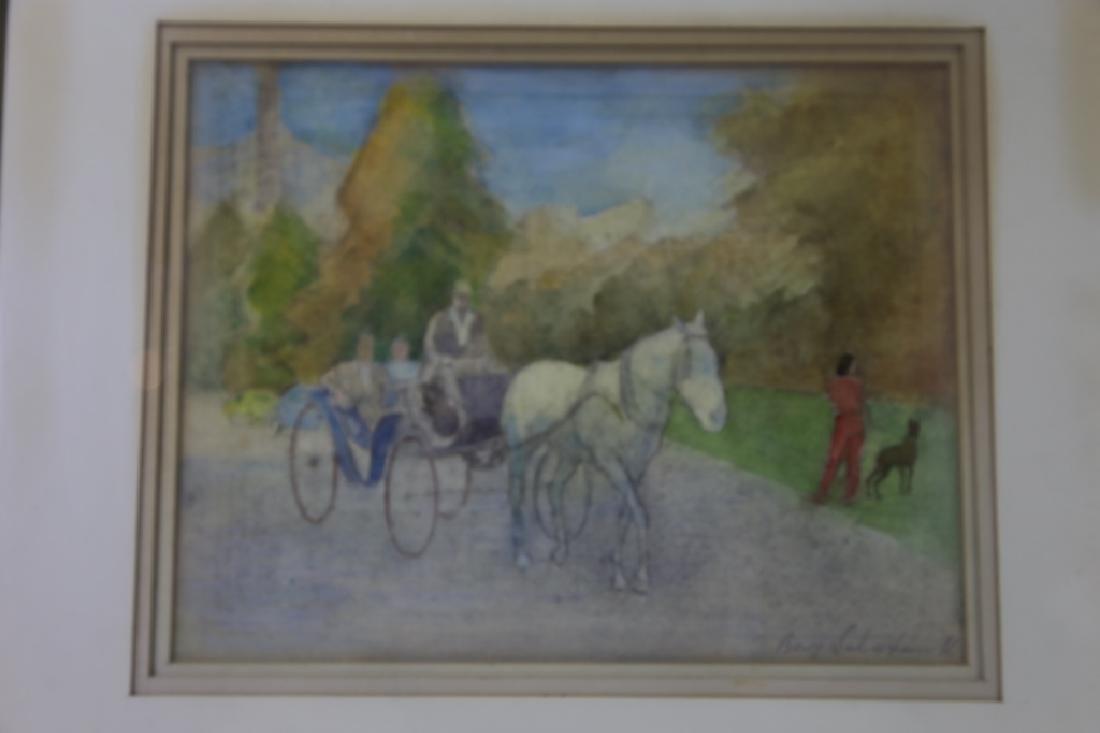 BORIS SOLOTAREFF (1889-1966)AUTUMN IN CENTRAL PARK - 5