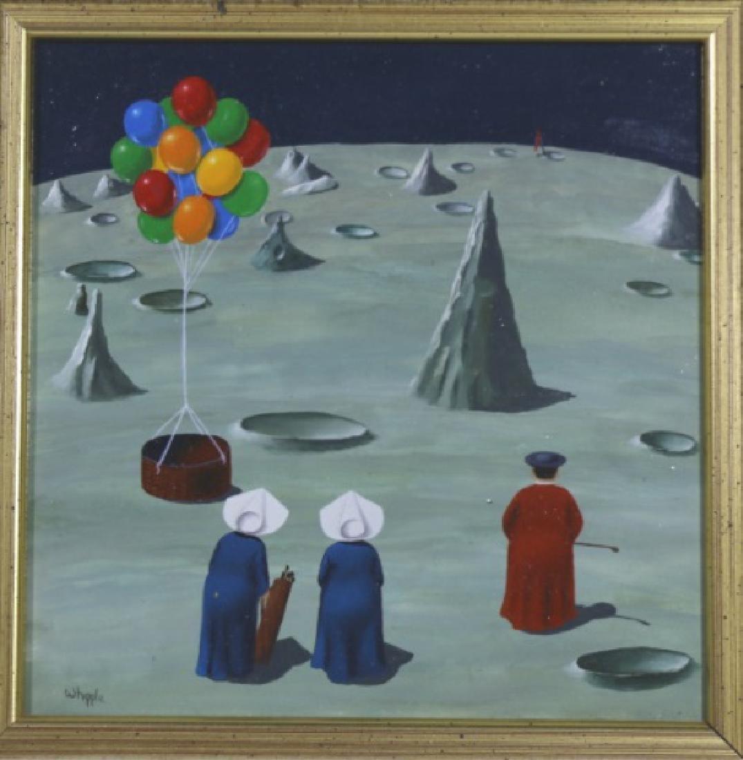 FRANK WHIPPLE (AMERICAN 1923-2016) NUNS ON MOON - 3