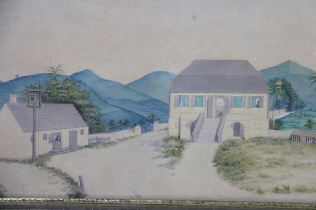 L.J. HARBOE 1840 ST CROIX ORIGINAL  DRAWING - 5