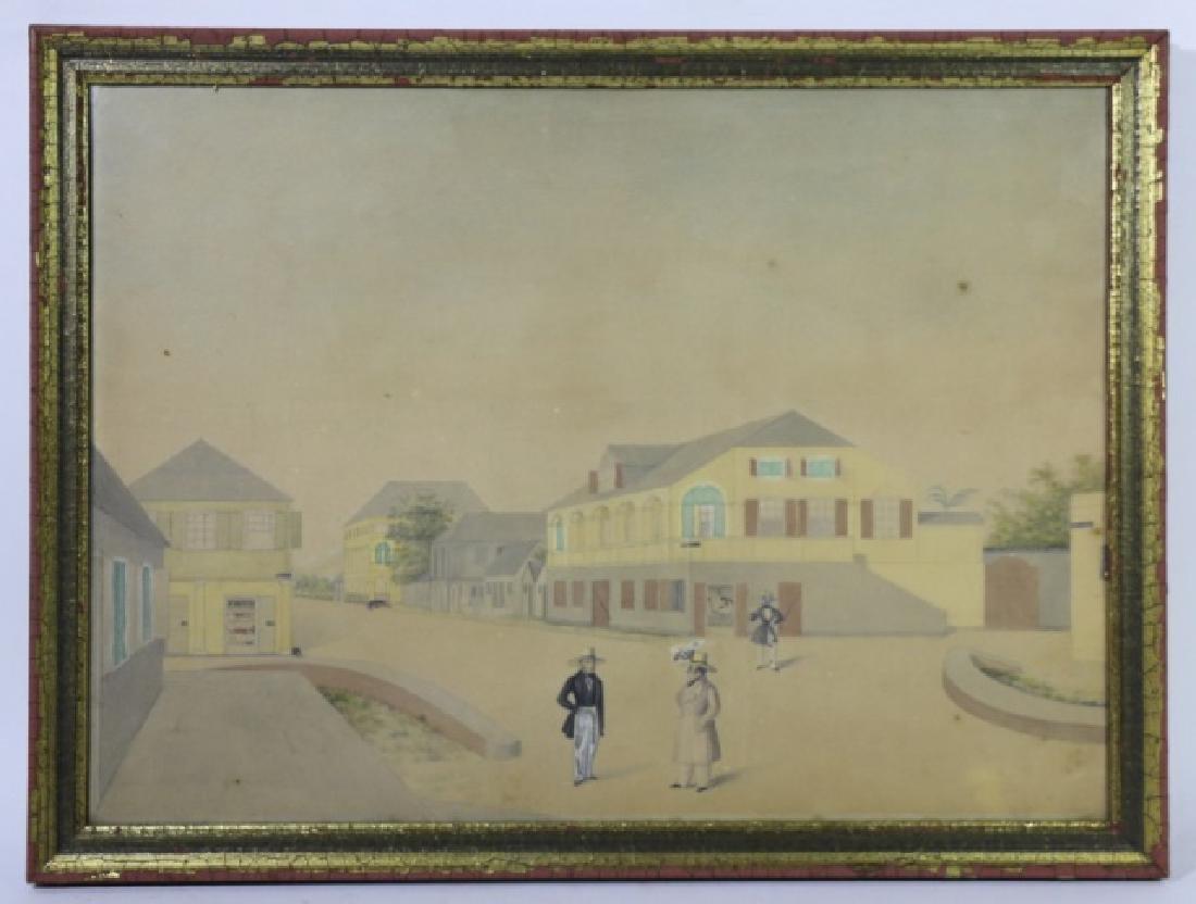 L.J. HARBOE 1840 ST CROIX ORIGINAL DRAWING - 2