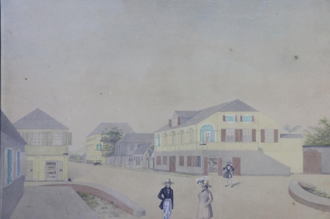 L.J. HARBOE 1840 ST CROIX ORIGINAL DRAWING - 3