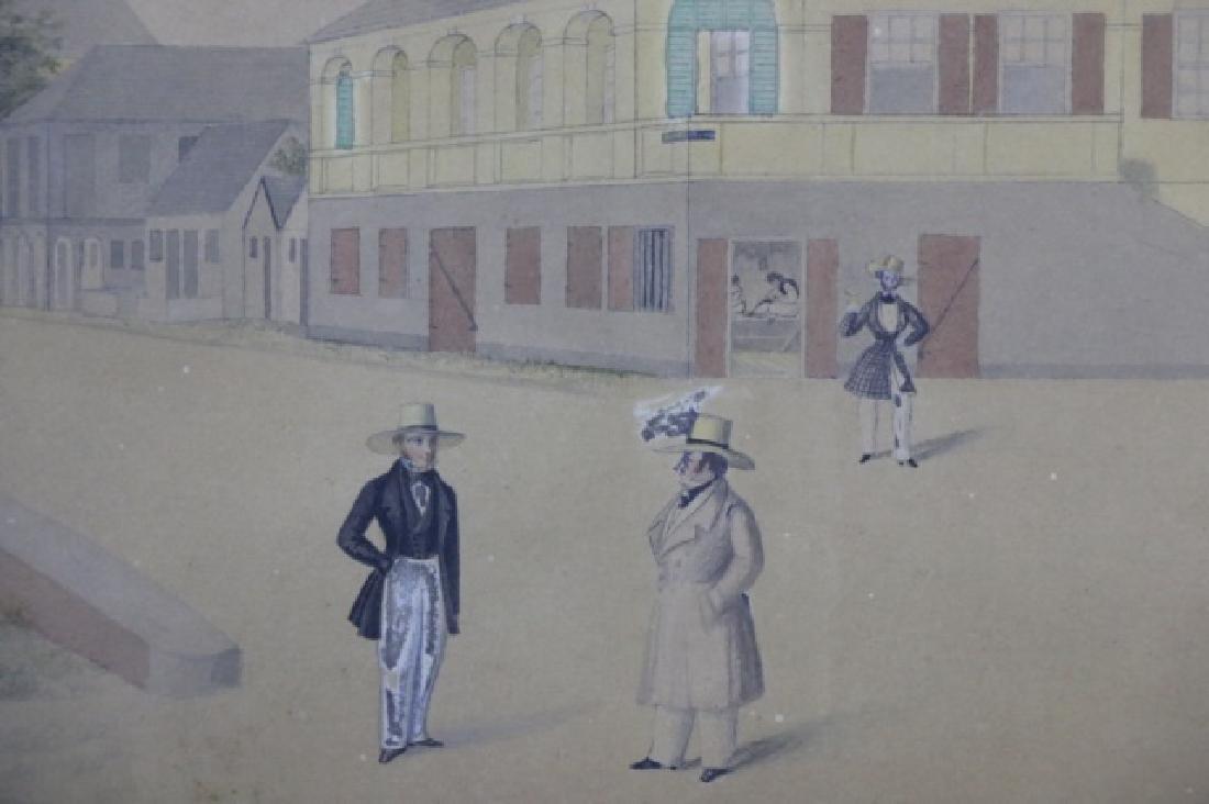 L.J. HARBOE 1840 ST CROIX ORIGINAL DRAWING - 4