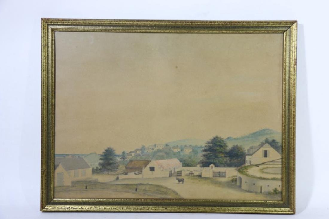 L.J. HARBOE 1840 ST CROIX ORIGINAL DRAWING - 7