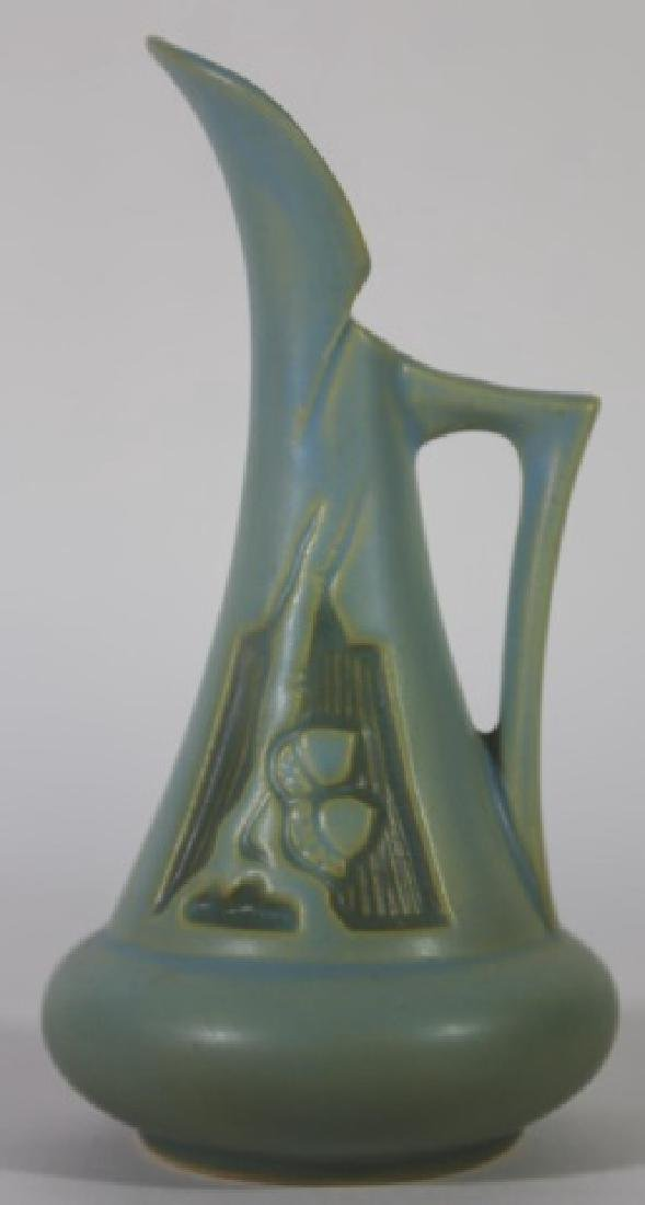 ROSEVILLE PETITE AMERICAN POTTERY PITCHER - 2