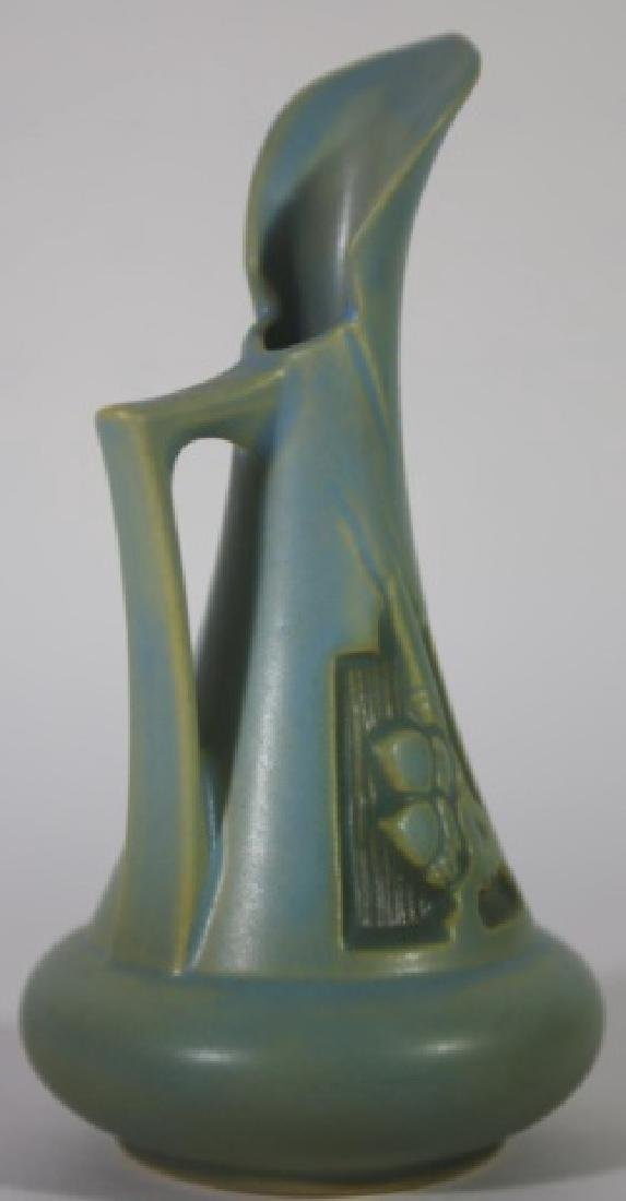 ROSEVILLE PETITE AMERICAN POTTERY PITCHER - 3