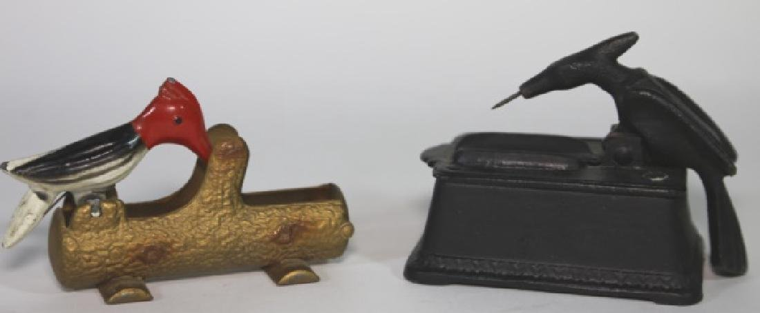VINTAGE CIGAR / LIGHTER BIRD PICKERS - 2
