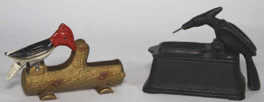 VINTAGE CIGAR / LIGHTER BIRD PICKERS - 3