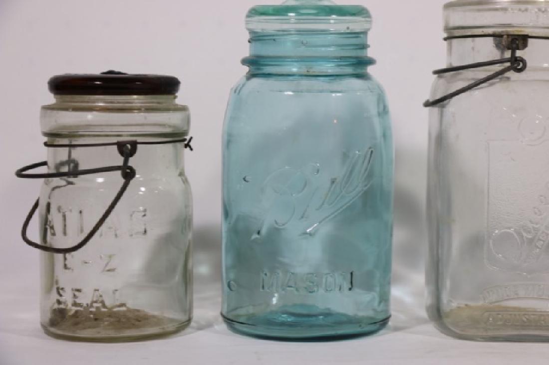 BELL MASON JAR GROUPING - 4
