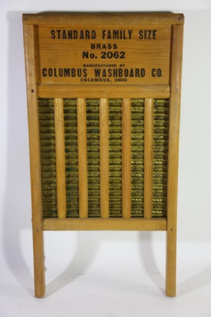 MAID RITE COLUMBUS OHIO ANTIQUE WASHBOARD - 4
