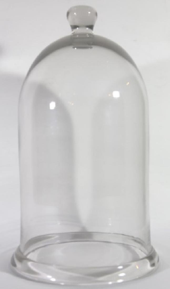 ANTIQUE GLASS DOME BELL JAR - 2