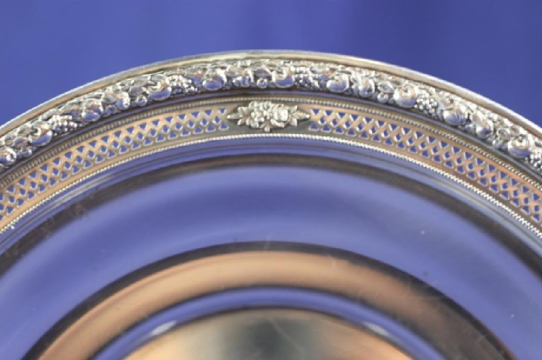 WALLACE STERLING SILVER PLATE - 2