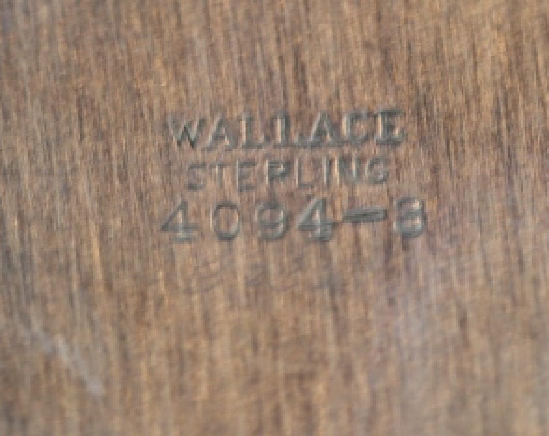 WALLACE STERLING SILVER PLATE - 4