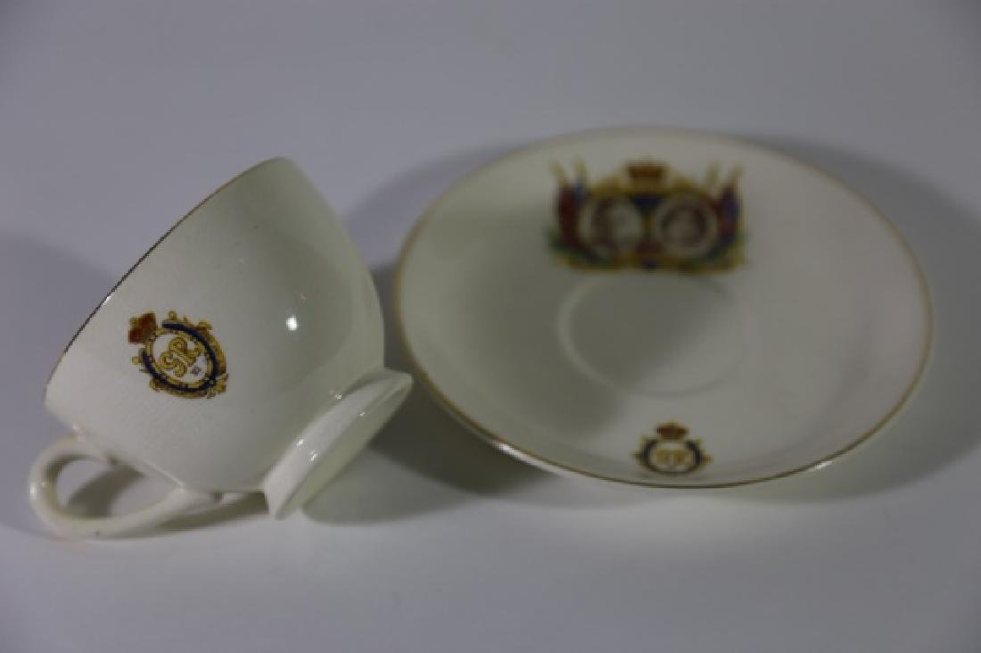 QUEEN ELIZABETH / KING GEORGE CORONATION TEA CUP - 10
